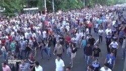 Протест в Ереване продолжается