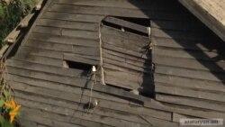 Խորհրդային միության փլվող փայտե տնակները