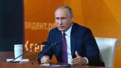 Володимир Путін про три українські області