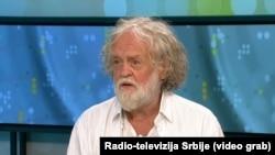 Miloš Šobajić u programu Radio-televizije Srbije