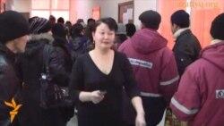 Центр занятости в Жанаозене. Февраль 2012 года.