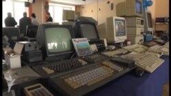 Retro kompyuterlərin sərgisi