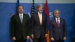 John Kerry Azərbaycan və Ermənistan prezidentlərini görüşdürür