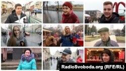 Чого бажають один одному українці по обидва боки лінії розмежування