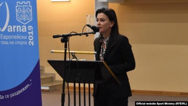 Заместник-министърката на младежта и спорта Ваня Колева