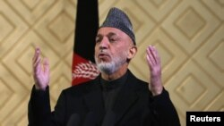 Afghan President Hamid Karzai often accuses Pakistan of backing the Taliban.