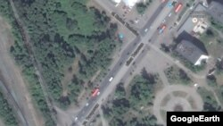 Парк Тинчурина и улица Татарстан (скриншот карт Google)