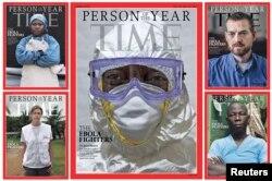 Обложка прошлогоднего журнала Time, определившего Человека года
