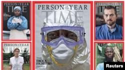 В прошлом году Time объявил Человеком года работников здравоохранения, помогавших бороться с распространение вируса Эбола