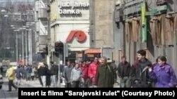 """Slika iz dokumentarca """"Sarajevski rulet"""""""