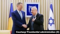 Președintele statului Israel, Reuven Rivlin, a acceptat invitația omologului român, Klaus Iohannis, de a efectua în acest an o vizită în România