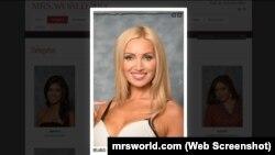 Марына Аляксейчык на сайце Mrsworld.com