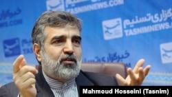 Atomic Energy Organization of Iran spokesman Behruz Kamalvandi (file photo)