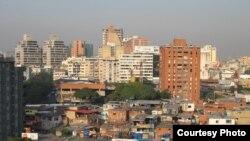 Венесуэланың астанасы Каракас. Көрнекі сурет.