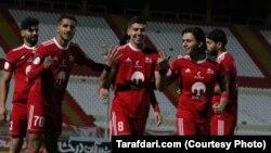Iran -- Tractor Sazi Tabriz FC, Iranian football club.