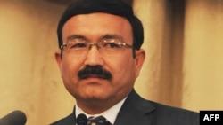 Ооганстан-- Көз карандысыз шайлоо комиссиясынын өкүлү Дауд Али Нажафи.