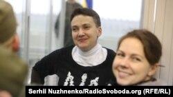 Сестри Савченко в апеляційному суді, 29 березня 2018