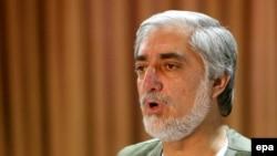 Kandidati presidencial në Afganistan, Abdullah Abdullah