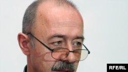 Проживающий в Кыргызстане российский эксперт по странам Центральной Азии Александр Князев. Алматы, 21 апреля 2010 года.