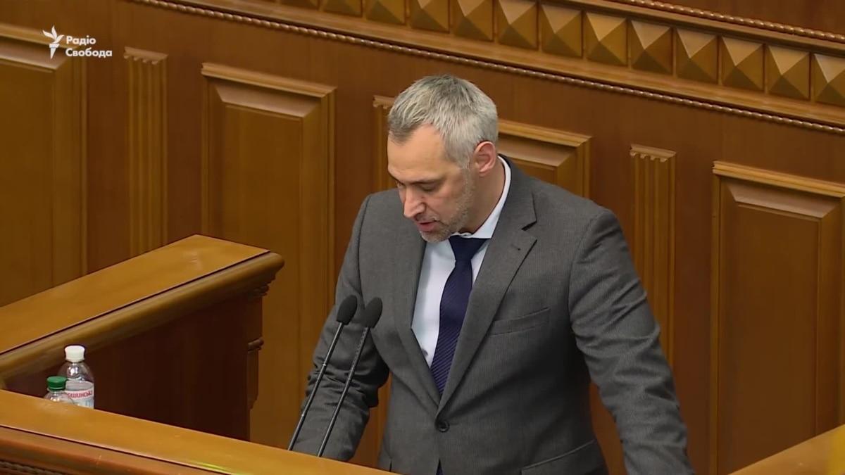 «Я ухожу, чтобы вернуться» – Рябошапка, которого Рада отправила в отставку (видео)