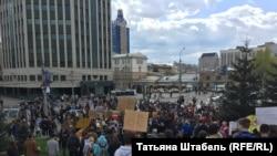 """Площадь у театра """"Глобус"""", Новосибирск"""