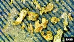 Золото (архивное фото)