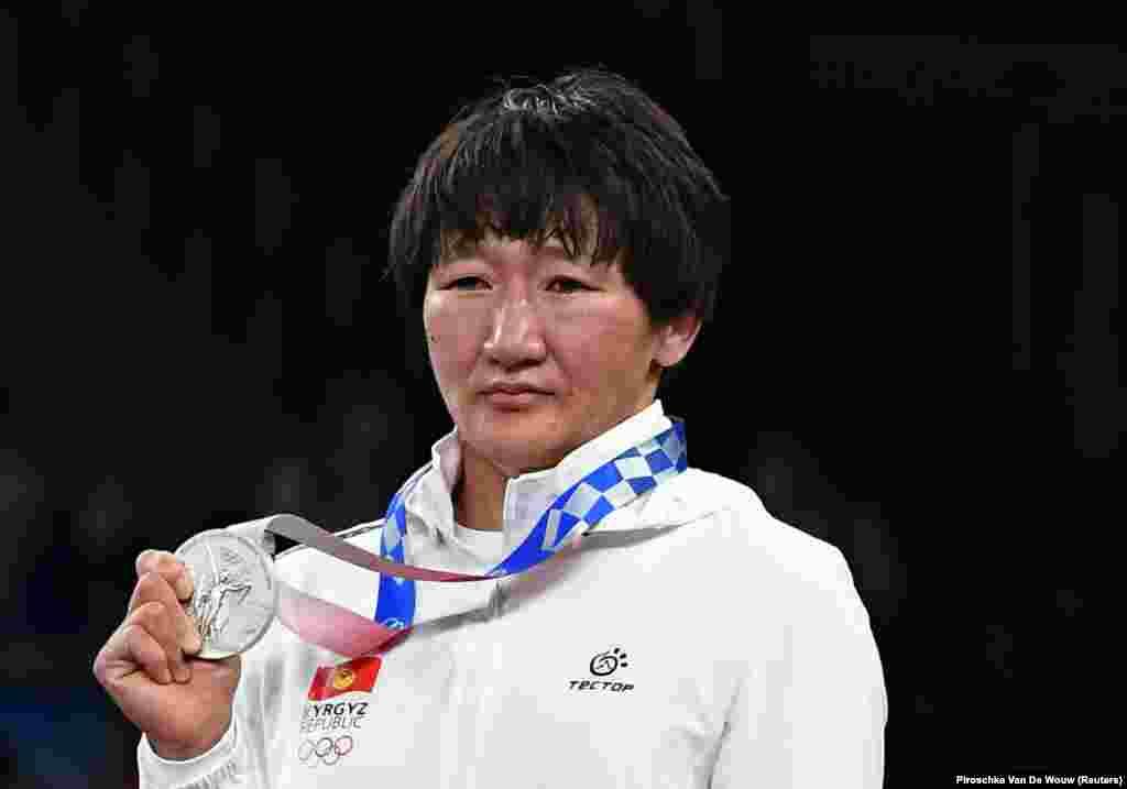 Токиодогу Олимп оюндарында Айсулуу Тыныбекова күмүш медаль алды.