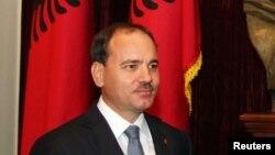 Албанскиот претседател, Бујар Нишани.