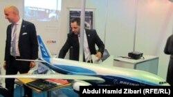 جانب من معروضات معرض أربيل الدولي للطيران