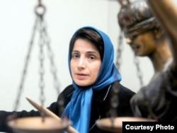 Nasrin Sotoudeh (file photo)