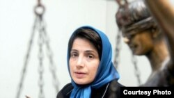 Nasrin Sotoudeh Iranian lawyer and rights activist activist.