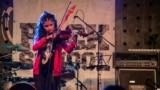 RockSchool project young girl plays violin