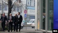 Deputeti Artan Grubi dhe lideri i BDI-së, Ali Ahmeti