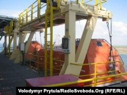 Самопідйомна плавуча бурова установка «Петро Годованець», 15 травня 2012 року