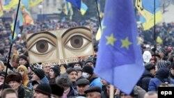 Kiev Piața Independenței 15 decembrie