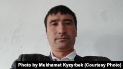 Вернувшийся на историческую родину из Китая Мухамет Кызырбек.