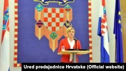 Predsednica Hrvatske osudila svaki oblik nasilja i netrpeljivosti