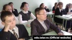 Татар теле дәресе, архив фотосы