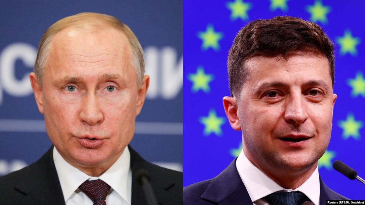 Зеленский о Путине: «хочу увидеть человека»