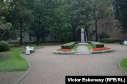 Scuarul Galina Starovoitova la Sankt Petersburg