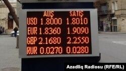Пункт обмена валюты в Баку