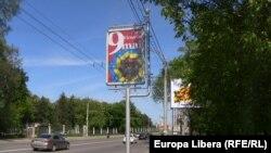 La Chișinău în ajun de 9 mai.