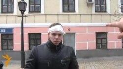 Постраждалі після розгону Євромайдану – у Михайлівському соборі