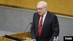 Заступник міністра закордонних справ Росії Сергій Рябков