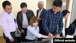 Биометрикалык маалымат тапшыруу. Кыргызстан.