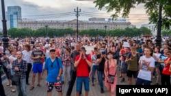 Rus protestçileri