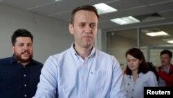 Леонид Волков и Алексей Навальный.
