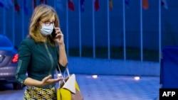 Bугарската министерка за надворешни работи Екатерина Захариева