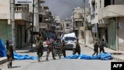 نیروهای شورای نظامی منبج تلاش گستردهای برای بازپسگیری این شهر از داعش داشتند.