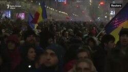 Românii protestează împotriva punerii justiției sub control politic